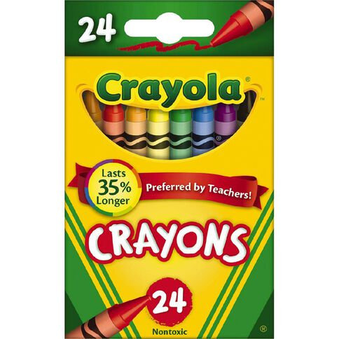 Crayola Crayons - Box of 24