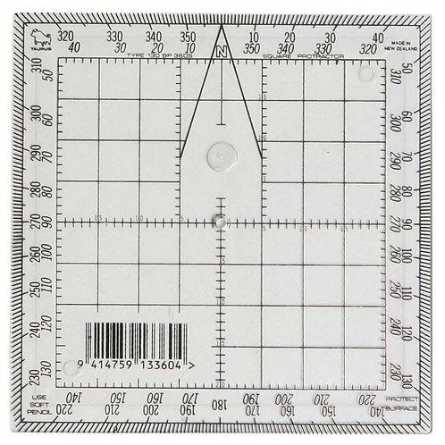 Square Protractor 13cm -Taurus brand