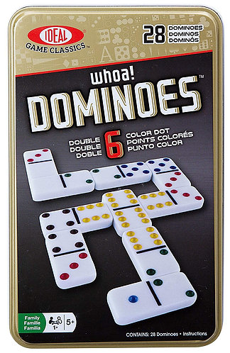 Dominoes - Double 6 in a tin