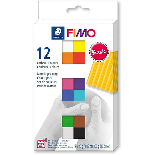 Staedtler Fimo Soft Modelling Clay - 12 pack