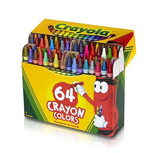 Crayola Crayons - Box of 64