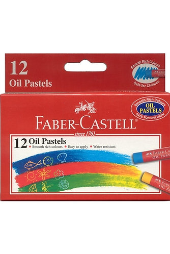 Faber Castell 12 Oil Pastels