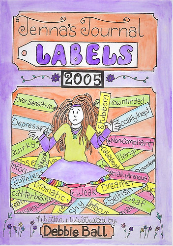 Jenna's Journal - Labels.  E-book