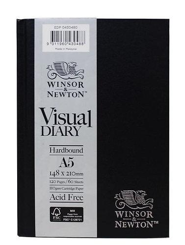 A5 Winsor & Newton Hardbound Visual Diary