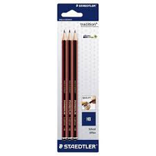 Staedtler Tradition HB Pencil- Pkt of 3