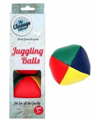 Vintage Juggling Balls - Box of 3