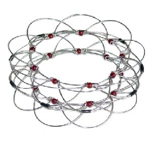 Beautiful Wire and Bead Game