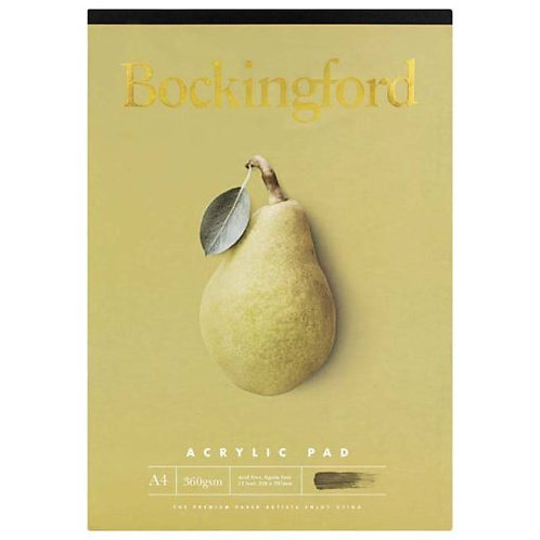 Bockingford A4 Acrylic Pad - 360gsm