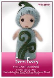Fern Fairy - Felt Kitset