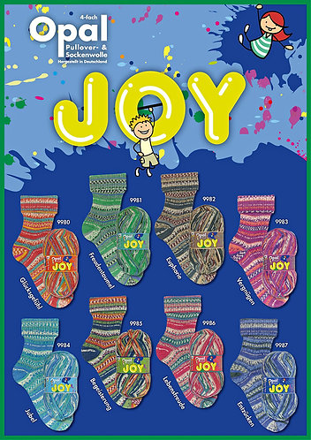 Opal Joy Yarn - 4 colourways to choose from
