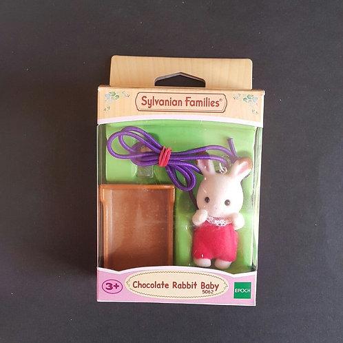 Sylvanian Baby Pendant - Chocolate Rabbit