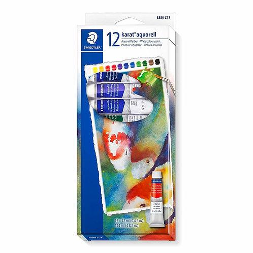 Staedtler Design Journey Watercolour Paints - 12 Tubes