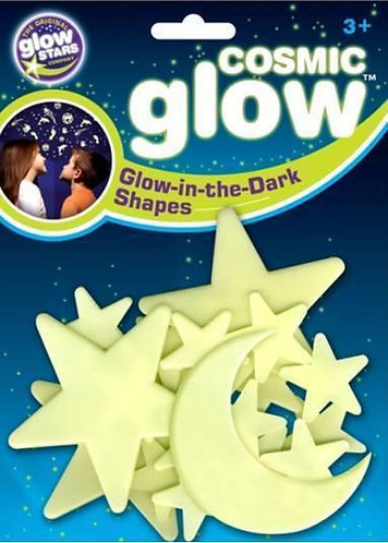 Cosmic Glow - Moon & Stars