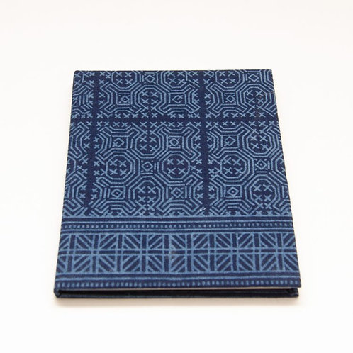 Trade Aid Blue Batik Notebook