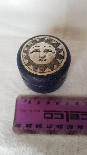 Little Papier-Mache Round Box