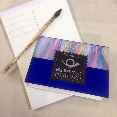 Fabriano Watercolour Paper Postcard book