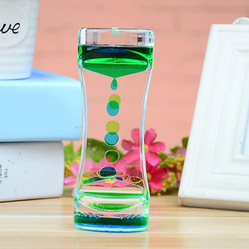 Liquid Floating Timer - Blue/Green or Pink/Blue
