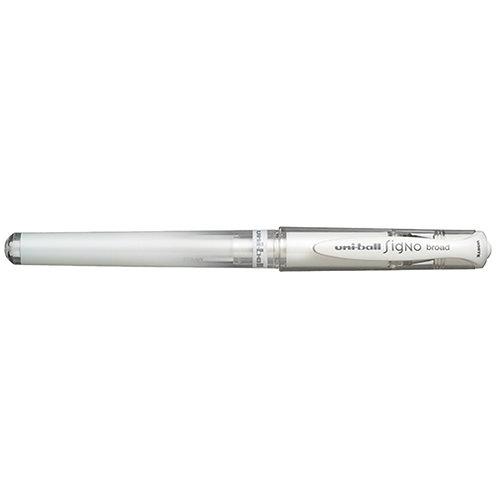 Uni Signo White Gel Pen - Broad
