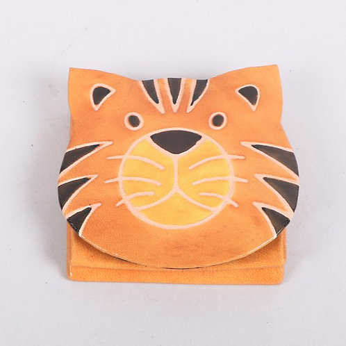 Tiger Face Coin Purse