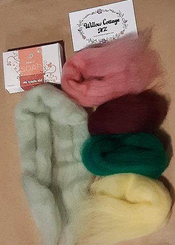 Soap Felting Kits - each is unique