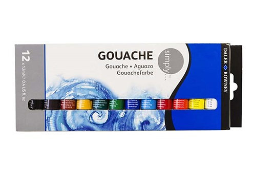 Daler Rowney Simply Opaque Watercolor Gouache