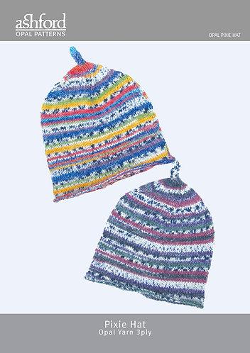 Opal Pixie Hat - Knitting Pattern