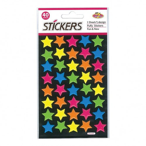 Star Stickers - Card of 40