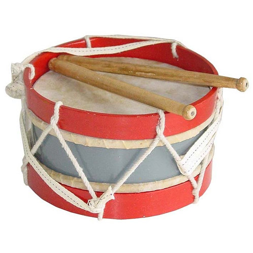 Delightfully old-fashioned drum