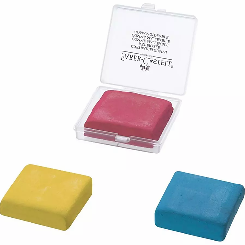 Faber-Castell Kneadable Eraser - 3 colours to choose from