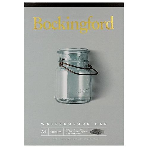 Bockingford A4 Watercolour Pad -  200 gsm
