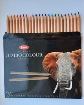Jasart Studio Jumbo Pencils - Pack of 24
