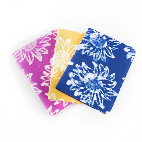 Trade Aid Small Batik Fabric-covered Notebook