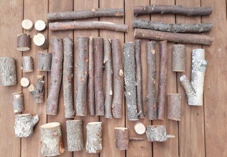 Natural TreeBits - over 3kg per pack