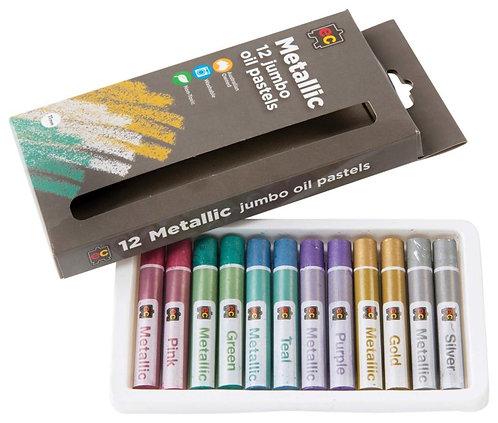 E C Oil Pastels - Metallic or Fluoro