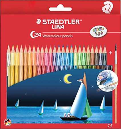 Staedtler Luna Watercolour Pencils - 24