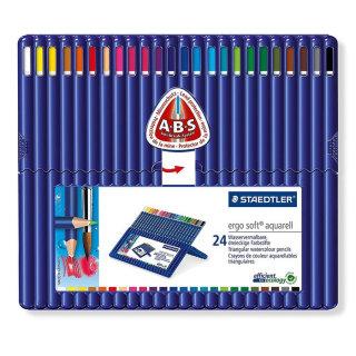 ErgoSoft Aquarell (watercolour) pencils - 24