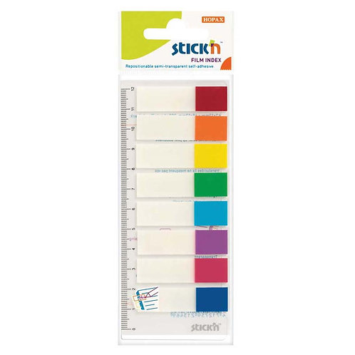 Stick'n Film Index - Sticky Tags 8 colours - 120 sheets