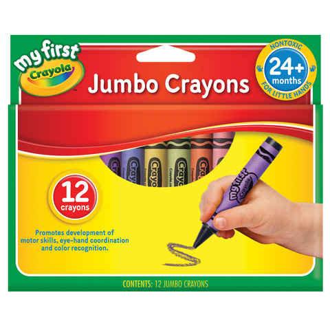 Crayola Crayons Jumbo - Box of 12