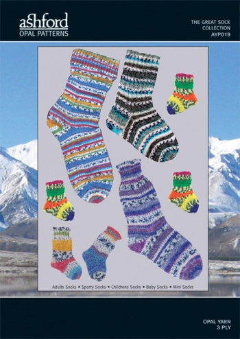The Great Sock Collection - Knitting Pattern
