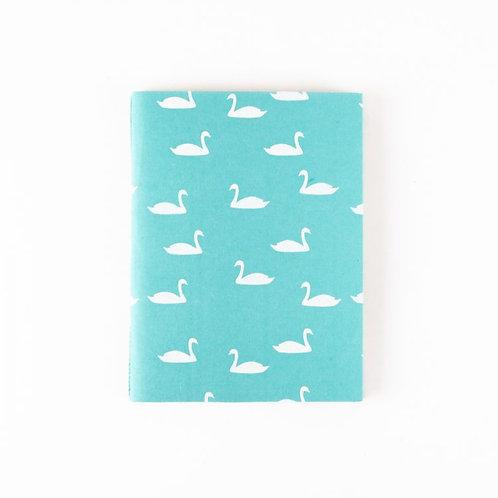 Trade Aid Swan Print Notebook