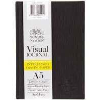 Winsor & Newton Visual Journal - A5 - Interleaven