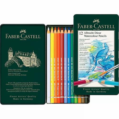 Faber Castell Albrecht Durer watercolour pencils - Tin of 12