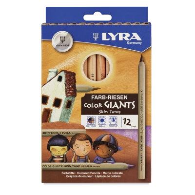 Lyra Giants - Skin Tone 12 Pencils