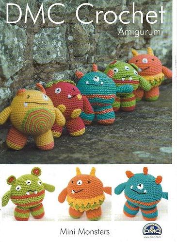 DMC Crochet Amigurumi patterns