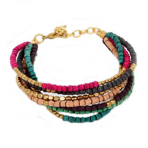 7-String Multicolour Bracelet