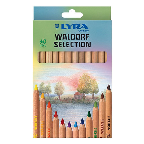 Lyra Waldorf Selection Pack of 12 pencils