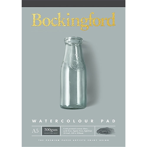 A5 Bockingford Watercolour Pad - 300gsm