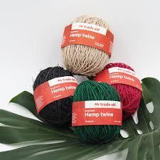 Organic Hemp Twine - Many colours!