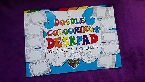 Doodle Colouring Deskpad - A3