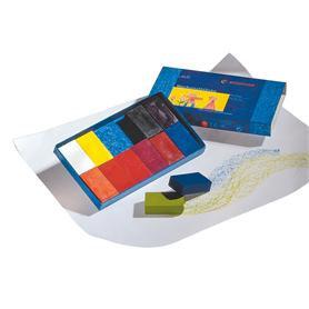 Stockmar Block Crayons 12 - in Cardboard Box